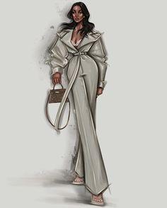 Lori Harvey — classy in white ☁️ Dress Design Drawing, Dress Design Sketches, Fashion Design Sketchbook, Fashion Design Drawings, Fashion Sketches, Fashion Drawing Tutorial, Fashion Figure Drawing, Fashion Drawing Dresses, Fashion Illustration Dresses