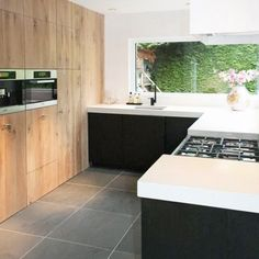 Barn Kitchen, Kitchen Room Design, Kitchen Taps, Kitchen Cabinet Design, Modern Kitchen Design, New Kitchen, Bungalow Conversion, Kitchenette, Home Kitchens