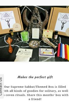 Box of Shadows: monthly subscription service for witches!