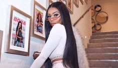 South African superstar, Bonang Matheba has released promo pics for her Bonang Matheba Lingerie collection. They are for Distraction By Bonang. Celebrity Couples, Celebrity Style, Stockings Outfit, Now And Then Movie, Queen B, Lingerie Collection, Business Women, White Jeans, Bollywood