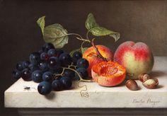 [Emilie+Preyer,+Fruchtestilleben+mit+haselnussen