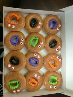 Cute Halloween breakfast idea