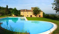 Vrijstaande villa met zwembad en panoramisch uitzicht, in Toscane
