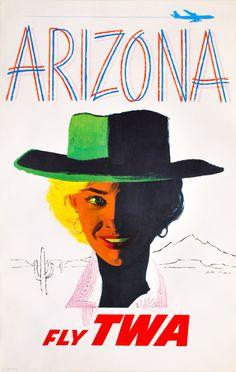 TWA - Arizona / Austin Briggs, 1960