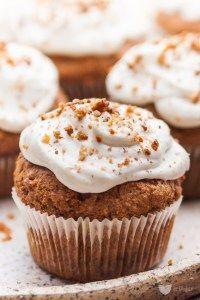 Pełnoziarniste muffiny marchewkowe