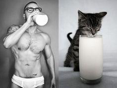 sexy men and pets - Căutare Google