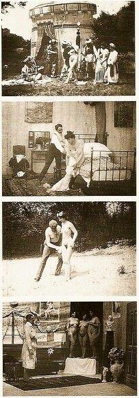 Johann Schwarzer, Erotic Movie, Vienna 1906