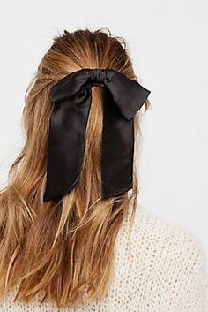 Satin Hair Bow