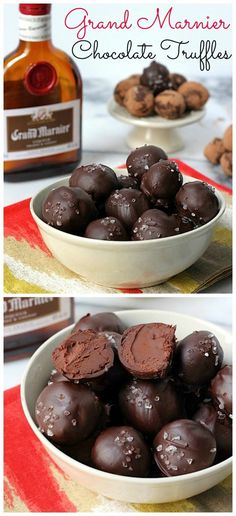 Marnier Truffles Grand Marnier Truffles - an easy DIY candy making recipe! Everyone loves these!Grand Marnier Truffles - an easy DIY candy making recipe! Everyone loves these! Just Desserts, Delicious Desserts, Dessert Recipes, Yummy Food, Healthy Food, Holiday Baking, Christmas Baking, Christmas Candy, Christmas Gifts