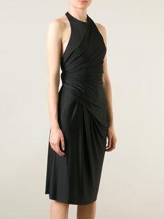 ALEXANDER WANG draped halter dress