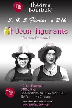 Deux Figurants  Théâtre Bourbaki 2011