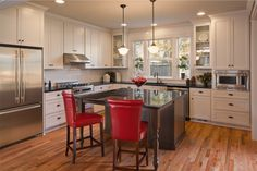 Not sure how to upgrade your kitchen cabinets? We've got all the info you need to decide. via theworkbenchlife.com