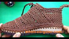 Yazlık File Örgü Ayakkabı  Tığ İşi crochet - YouTube