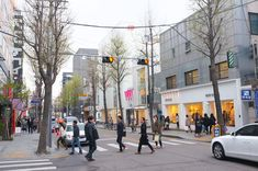 "Located between Sinsa-dong and Apgujeong, Garosu-gil – which means ""tree-lined street"" in Korean – is fast becoming the hippest area in Seoul. An intr"