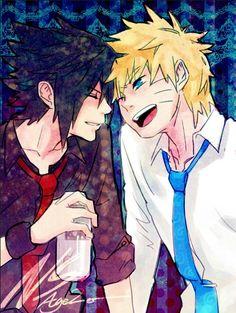 Naruto & Sasuke sasunaru | Tumblr