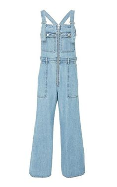 Denim Overalls by Sea Resort 2019 Backhanded Compliment, Vacation Wardrobe, Denim Overalls, New Woman, Compliments, Pants, Clothes, Collection, Shopping