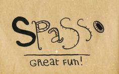 Learning Italian Language ~  Spasso (Great Fun) IFHN