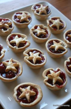 Mini Cherry Pies – What do you get when you combine pie dough, cherry pie filling, and an egg? One of the easiest desserts ever. These little bites deliver flavor with a side of star spangled cheer.