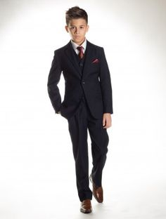Boys navy Communion suit - Clarke