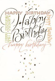 Happy Birthday | Holly Monroe: greeting card
