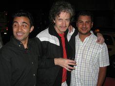 COSTARELLI, RAMIRO QUESADA Y BACO, en el 2012 : foto: Ale Cres   echolalia