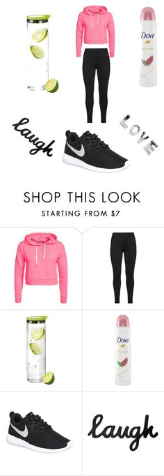 """Sports look"" by ella0401 ❤ liked on Polyvore featuring Only Play, Studio, blomus, Dove, NIKE, women's clothing, women, female, woman and misses"