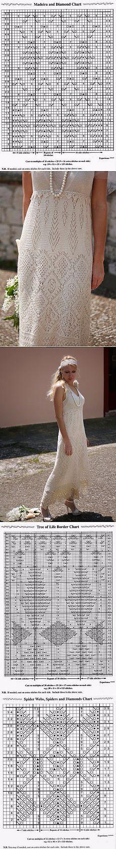 """цитата koko_shik : Вязание на спицах: шикарные платья с ажурными узорами (""""филейное"""" вязание спицами) (16:36 25-04-2015) [5591840/360354389] - ksunia1969@mail.ru - Почта Mail.Ru"""