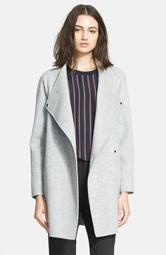 Grey Coat by Vince. Buy for $675 from Nordstrom
