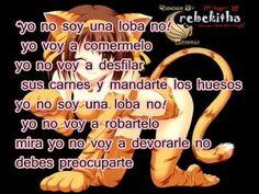 yo no soy una loba ♥♥♥♥ ( rbc)♥♥♥♥♥ ♠ xirusitha♠
