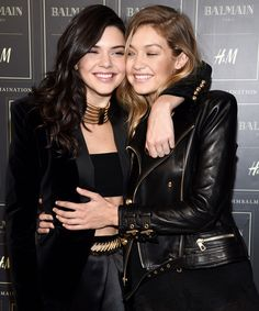 Kendall Jenner and Gigi Hadid Channel Their Famous Moms in This Instagram from InStyle.com