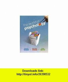 The World of Psychology with MyPsychLab with Pearson eText Student Access Code Card (7th Edition) (9780205789108) Samuel E. Wood, Ellen Green Wood, Denise Boyd , ISBN-10: 0205789102  , ISBN-13: 978-0205789108 ,  , tutorials , pdf , ebook , torrent , downloads , rapidshare , filesonic , hotfile , megaupload , fileserve