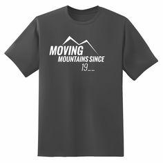 T-Shirt Moving Mountains - Men's