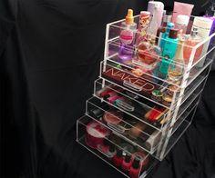 Make-Up Storage Idea's   Peonies & Polish