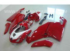 2005-2006 Ducati 749/999 Red & White Fairings
