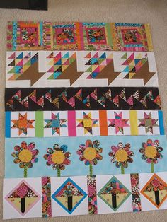 SewMod Row Quilt by andie70, via Flickr