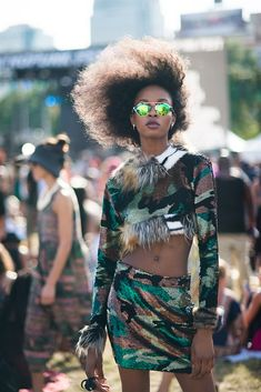 fr aime AFROPUNK Style - festival afropunk fashion This is Afropunk - Vogue. Festival Mode, Festival Outfits, Festival Fashion, Kitenge, African Inspired Fashion, African Fashion, Black Girl Magic, Black Girls, Afro Punk Fashion