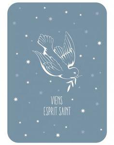 carte_postale_colombe_viens_esprit_saint_bleu