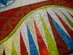 This is one of many beautiful photos of an amazingly gorgeous quilt!!