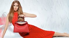 fendi spring 2014 campaign7 Nadja Bender + Joan Smalls Star in Fendi Spring 2014 Ads