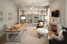 Image result for shabby chic interior design Chic Office Decor, Shabby Chic Office, Shabby Chic Porch, Shabby Chic Curtains, Shabby Chic Bedrooms, Shabby Chic Kitchen, Shabby Chic Homes, Office Setup, Office Ideas