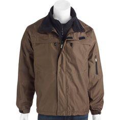 Men's Ripstop Jacket with Polar Fleece Lining