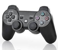 nice Bluetooth inalámbrico DUALSHOCK 3 para Playstation 3 - negro