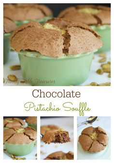 ... Chocolate Pistachio Souffle! Sometimes that chocolate craving just