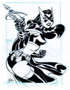 Huntress Sketch by Bruce Timm Bruce Timm, Comic Book Artists, Comic Artist, Comic Books Art, Dc Comics Art, Batman Comics, Harley Quinn, Pin Up, Joker