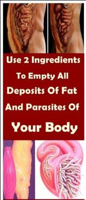 Just Use These 2 Ingredients To Empty All Deposits of Fat and Parasites Of Your Body Without Effort - Natural Remedies 365 Health And Beauty, Health And Wellness, Health Fitness, Fitness Tips, Health Care, Salud Natural, Lose Body Fat, Alternative Medicine, Natural Healing