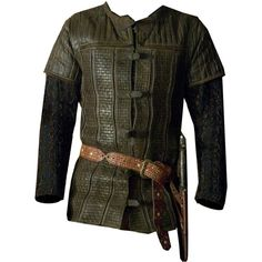 Mens Medieval Tristan Tunic ❤ liked on Polyvore