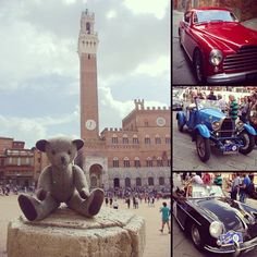 #tweedyted can't decide what he enjoys best in #siena the architecture or the cars #TrofeoNuvolari