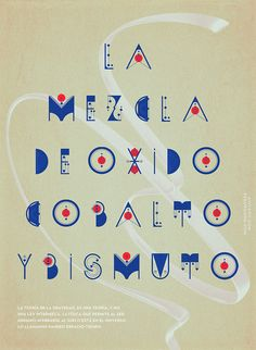 ALQUIMIA TYPE by Luis Miguel Torres, via Behance