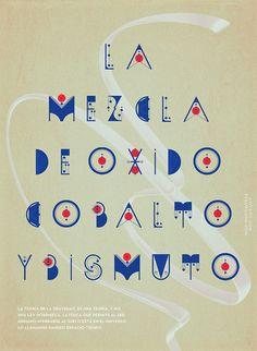 ALQUIMIA TYPE by Luis Miguel Torres, via Behance