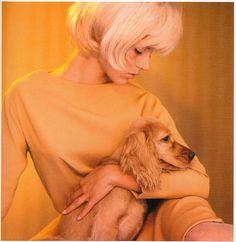 Sylvie Vartan...I love her hair!